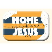 Magnet - Home is where Jesus is